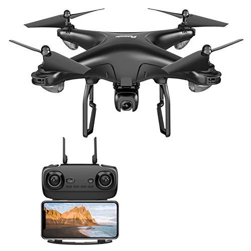 Potensic Drone 1080P HD caméra 5.8G WiFien Fonction Suivez-Moi, Maintien de l'altitude, GPS Retour à la Maison