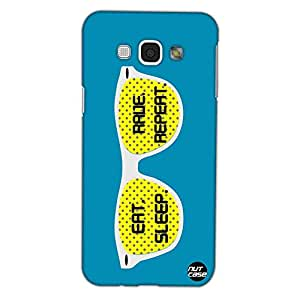 Designer Samsung Galaxy Note 5 Case Cover Nutcase -Eat Sleep Rave Repeat