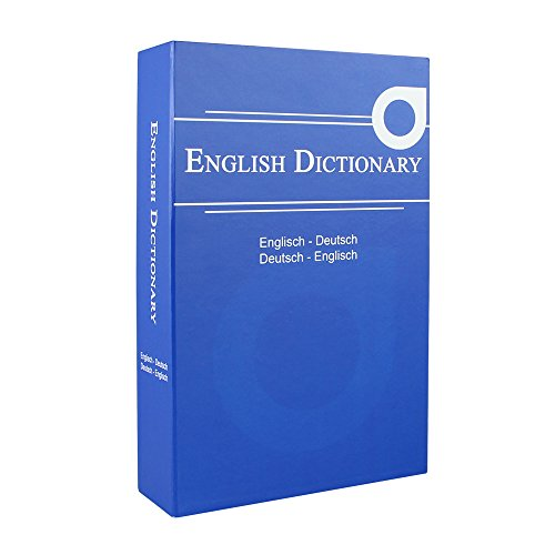 Geldkassette (Buchsafe) getarnt als English Dictionary - 4