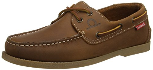 Chatham Men's Galley Boat Shoes, Brown (Walnut), 8 UK 42 EU
