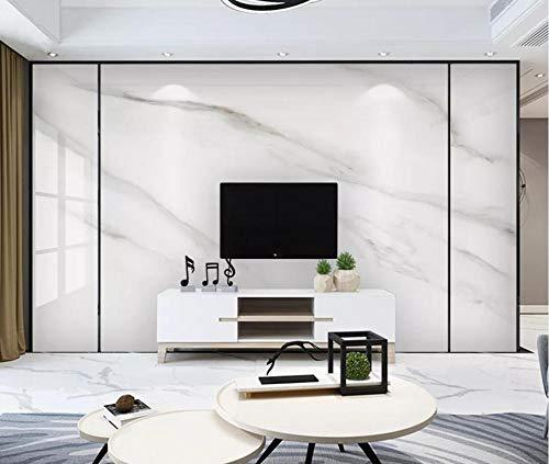 Tapeten 3D Tapete Wandbilder Einfache Weiße Marmorfliesen Sind Hell Und Luxuriös Vliestapete Fototapete Wanddekoration