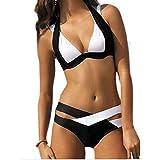 SUNNOW® Womens Sexy Push Up Padded Cut Out Bikini Set Swimsuit Swimwear Bathing Suit