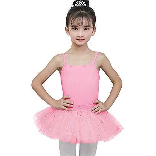 Mädchen Trikot Kleid Ballett/Tanz/Gymnastik Tutu Rock Dancewear Kostüm Gymnastik Trikot Rock für Jugendliche Frauen Rosa Lila Schwarz Mit Spitze (Tanz Mit Schwarzen Und Weißen Kostümen)