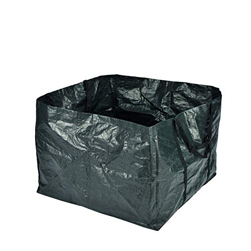 Gartentasche grün, ca. 240 Liter Fassungsvermögen, wasserabweisend und strapazierfähig