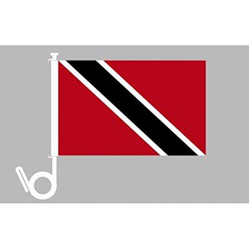 Everflag Auto-Fahne: Trinidad & Tobago - Premiumqualität (Trinidad Auto Fahne)