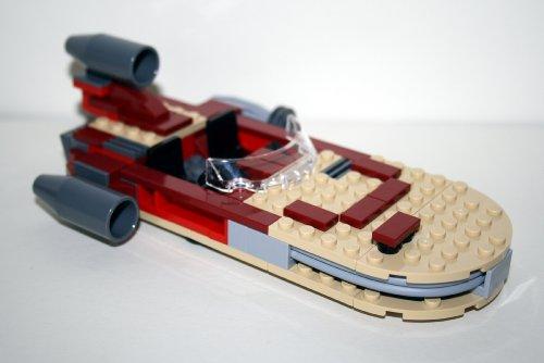Lego Star Wars Luke`s Landspeeder 8092 incl. Baunanleitung ohne Figuren