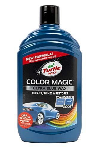 Turtle Wax 52709 Color Magic Autolackpolitur Stellt Farbe Und Glanz Wieder Her Blau 500ml