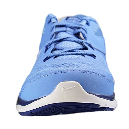 Nike - Flex Trainer 5 Print, Scarpe Da Ginnastica da donna Azul (Chlk Bl / Mtllc Slvr-Dp Ryl Bl-W)