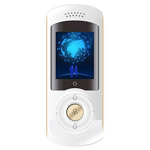 IOIOA AI-Übersetzer-Gerät mit Wi-Fi-Hotspot, 45 Sprachen Sofortiger Zwei-Wege-Sprachübersetzer mit integrierter SIM-Karte, 2,0-Zoll-Touchscreen, Geräuschunterdrückung,B