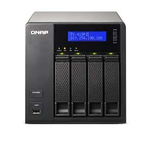QNAP TS-419P II Boîtier réseau NAS SATA/LAN