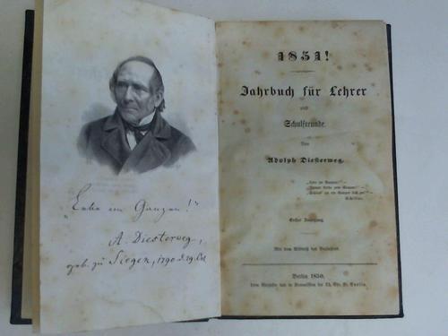 1851! Jahrbuch für Lehrer und Schulfreunde