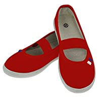 Rulyt Unisex-Youth JARMIL-CR-19.5 Gym Shoes, Size-19.5, Color, Red, One Size