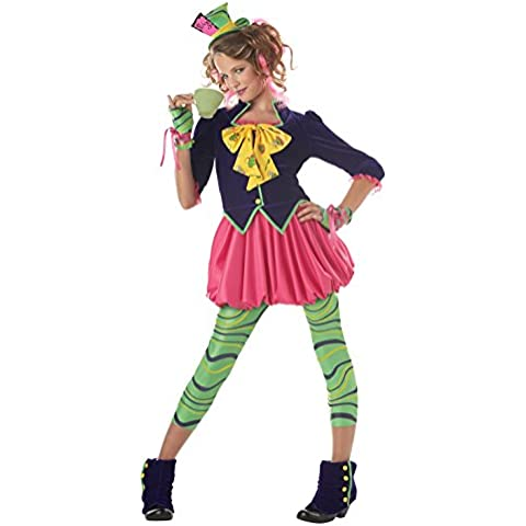 California Costumes Teen The Mad Hatter Costume, Multi, Large (disfraz)