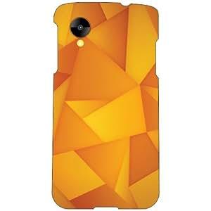 LG Nexus 5 LG-D821 Back Cover - Abstract Designer Cases
