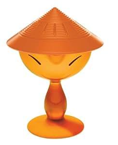 A di Alessi ASG31 O Mandarin Spremiagrumi con Coppa in Resina Termoplastica, Arancio