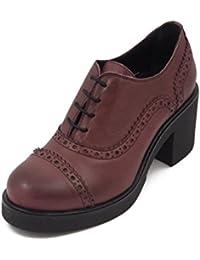 Amazon.it  scarpe francesine - Rosso   Scarpe da donna   Scarpe ... 69415337818