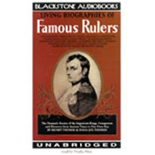 Living Biographies of Famous Rulers  Audiolibri