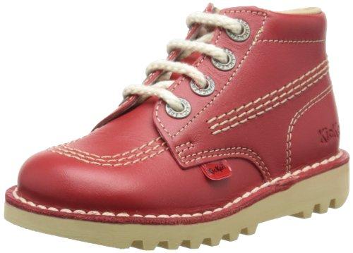 Kickers Core Classic, Chaussures de Running Garçon Rouge (Red)