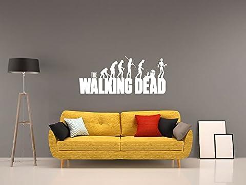 The Walking Dead - EVO - Weiss - ca. 70 x 30 cm