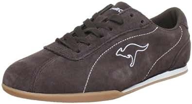 KangaROOS Selma, Damen Sneakers, Braun (cocoa/metallicgrey 322), 38 EU
