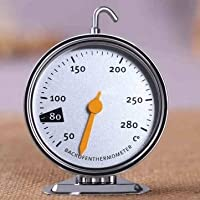 Hanging Stainless Steel Oven Cooker Thermometer Temperature Gauge Baking Cooking Tools