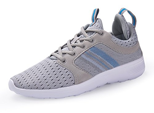 Santiro Low-Top Sneakers for Men Gym Walking Trainers Fitness Lightweight Sports Running...