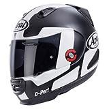 Rebel Perspektive Motorrad Helm ARAI in Weiß/Schwarz
