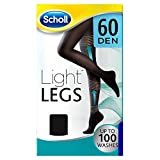 Scholl Light Legs Strumpfhose für ein leichtes Beingefühl, 60 DEN, schwarz, S, lange Haltbarkeit, 1 Paar