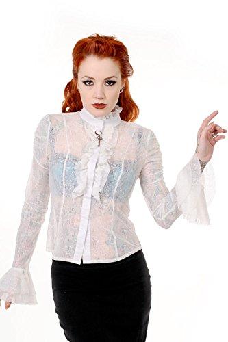 Banned Apparel - Camicia -  donna Bianco