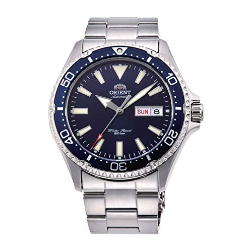 Orient Mens Analogue Automatic Watch with Stainless Steel Strap RA-AA0002L19B