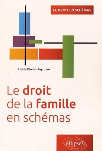 Le Droit de la Famille en Schémas par Amélie Dionisi-Peyrusse