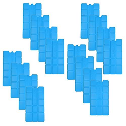 NEMT 16 x Kühlakku 750 ml Kühlelemente für die Kühltasche oder Kühlbox Kühlakku