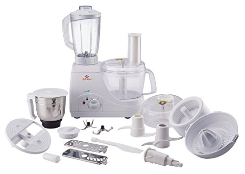 Bajaj FX7 600-Watt Food Processor (White)