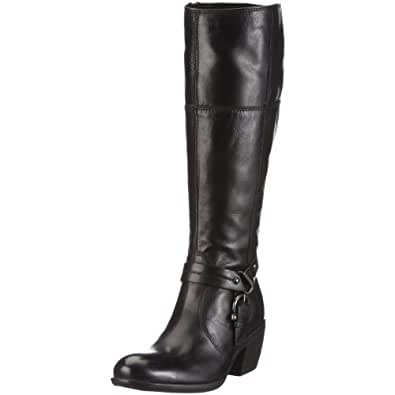 Clarks Womens Mascapone Mix Boots Black Leather 9 UK