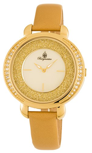 Burgmeister Women's Analogue Quartz Watch with Leather Strap BM808-279