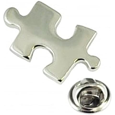Puzzle Piece autismo Pin de solapa corbata de Tachuela