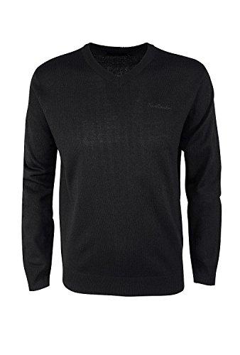 pierre-cardin-mens-new-season-essential-v-neck-knitted-jumper-xl-black