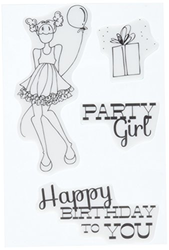 prima-marketing-foam-julie-nutting-mixed-media-cling-rubber-stamps-party-girl-set-15-inch-x-15-inch-