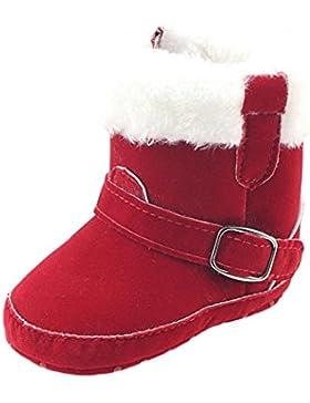 Fuibo Babyschuhe, Kleinkind Neugeborenes Baby Jungen Mädchen Krippe Winter Stiefel Prewalker Warme Martin Schuhe