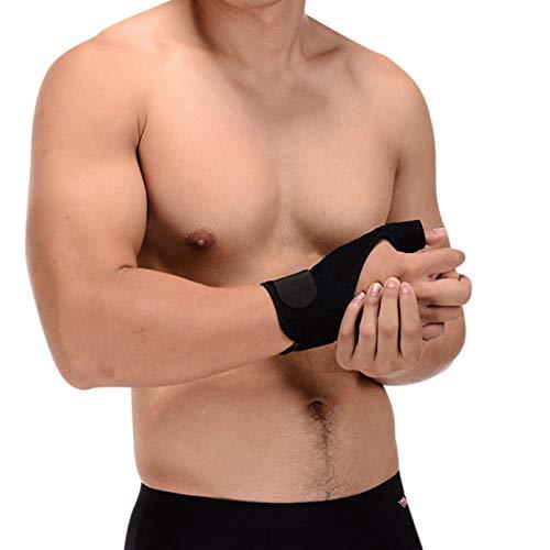 oxoxo sports verstärkte Daumenbandage | Daumen-Schiene für Daumengelenk | Soft-Lycra-Nähte für höchsten Tragekomfort | Doppel-Klettbänder für perfekten Halt und Passform [rechts] -