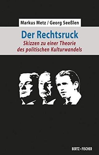 Der Rechtsruck: Skizzen zu einer Theorie des politischen Kulturwandels