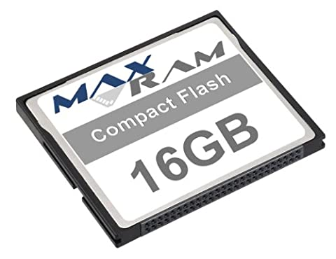 MaxRam 16GB Compact Flash Memory
