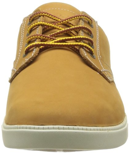 Timberland Newmarket Fulk Low Profile, Oxfords Homme Jaune (Wheat)