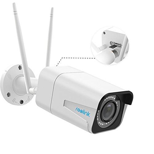 Reolink 5MP WLAN Überwachungskamera mit 4X optischem Zoom für A...