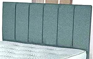 Spring Well Turin Fabric Portobello Headboard 20 inches Height in all Colours /& Sizes