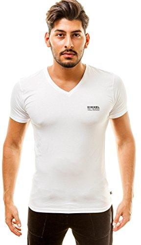 Diesel Herren T-Shirt Michael MODAL Weiß