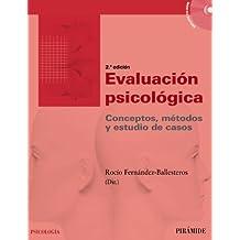 Evaluación psicológica: Conceptos, métodos y estudio de casos (Psicología)