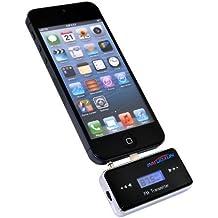 Patuoxun ® Transmisor FM Manos Libres para el Coche con Pantalla LCD de 3,5 mm y Cargador de Coche para el iPhone 5 5S 5C 5G