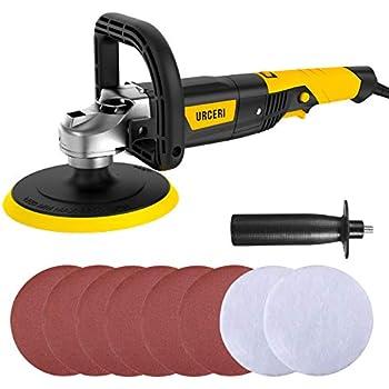GP-PRO 1100VSC Rotary Polishing Machine 230v Buffing and Sanding Polisher
