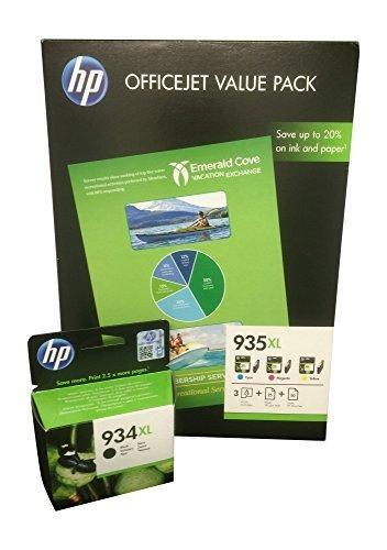 Preisvergleich Produktbild 4 Original XL Druckerpatronen für HP Officejet Pro6230 Pro 6230 ePrinter (XL black/cyan/yellow/magenta) Tintenpatronen
